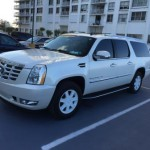 Cadillac Escalade - полноприводный внедорожник в Майами