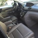 Сиденье переднего пассажира в минивэне Honda Odyssey