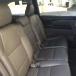 Широкие удобные сиденья Honda Odyssey