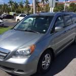 Аренда Honda Odyssey 2007 в Майами