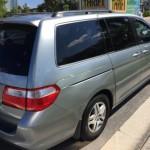 Широкий обзор для пассажиров Honda Odyssey