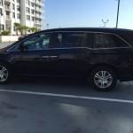 Honda Odyssey лучший автомобиль в Майами